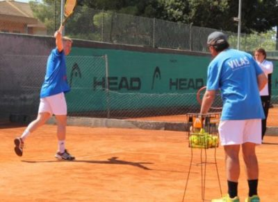Adult Tennis Camp training from 3 days at Vilas Tennis Academy